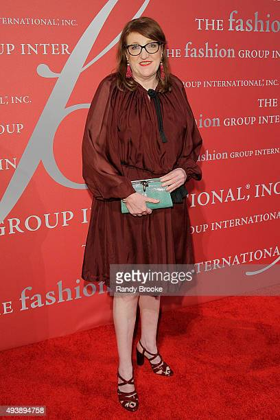 Glenda Bailey attends the 2015 Fashion Group International Night Of Stars Gala at Cipriani Wall Street on October 22 2015 in New York City