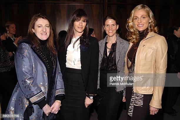 Glenda Bailey Gwen McCaw Colleen Bell and Jamie Tisch attend NRDC Luncheon hosted by Anna Scott Elizabeth Wiatt Amy Sacco and Marjorie Gubelmann...