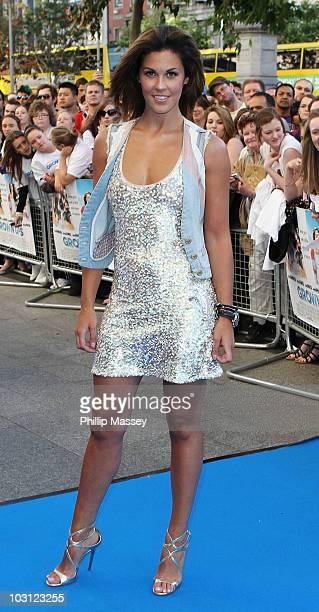 Glenda Gilson attends the Dublin Premiere of 'Grown Ups' on July 27 2010 in Dublin Ireland