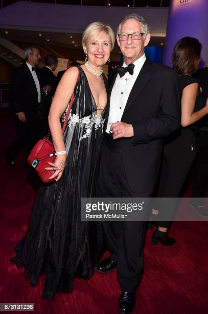 Glenda Gray and Larry Corey attend the 2017 TIME 100 Gala at Jazz at Lincoln Center on April 25 2017 in New York City