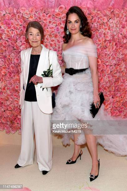 Glenda Jackson and Ruth Wilson attend The 2019 Met Gala Celebrating Camp Notes on Fashion at Metropolitan Museum of Art on May 06 2019 in New York...