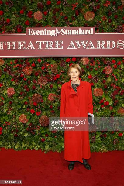 Glenda Jackson attends 65th Evening Standard theatre Awards in association with Michael Kors at the London Coliseum on November 24 2019 in London...