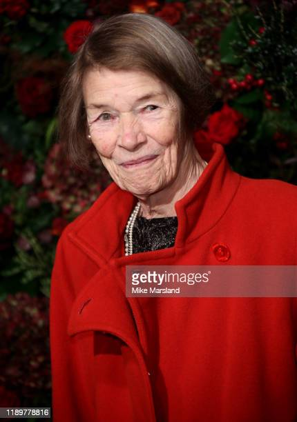Glenda Jackson attends the 65th Evening Standard Theatre Awards at the London Coliseum on November 24 2019 in London England