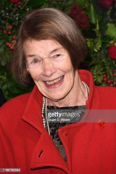 Glenda Jackson attends the 65th Evening Standard Theatre Awards at London Coliseum on November 24 2019 in London England