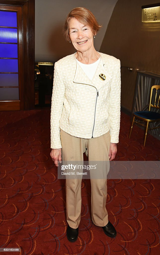 Glenda Jackson attends The Critics' Circle Theatre Awards at The Prince of Wales Theatre on January 31, 2017 in London, England.