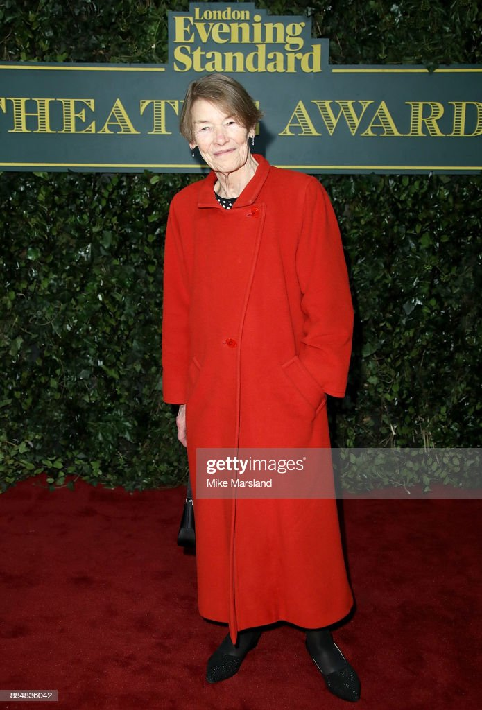 Glenda Jackson attends the London Evening Standard Theatre Awards at Theatre Royal on December 3, 2017 in London, England.