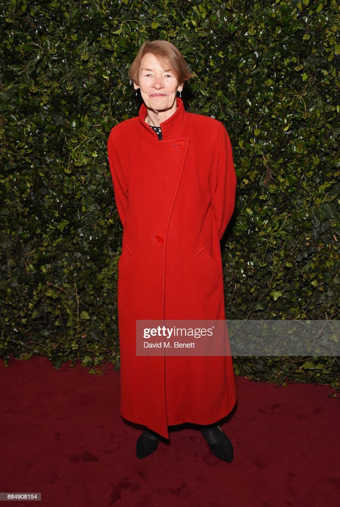Glenda Jackson attends the London Evening Standard Theatre Awards 2017 at the Theatre Royal, Drury Lane, on December 3, 2017 in London, England.
