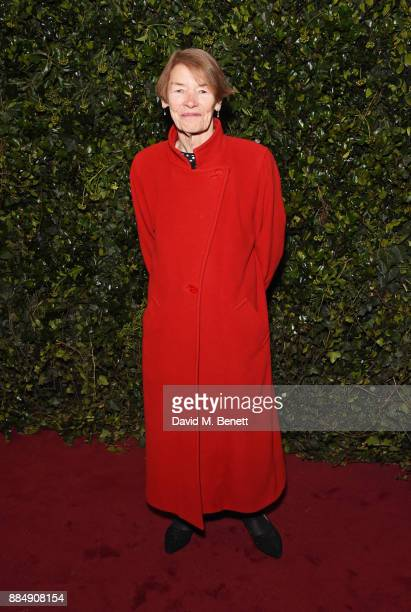 Glenda Jackson attends the London Evening Standard Theatre Awards 2017 at the Theatre Royal Drury Lane on December 3 2017 in London England