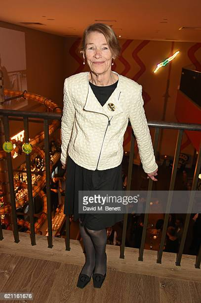Glenda Jackson attends the press night after party celebrating The Old Vic's production of King Lear at the Ham Yard Hotel on November 4 2016 in...