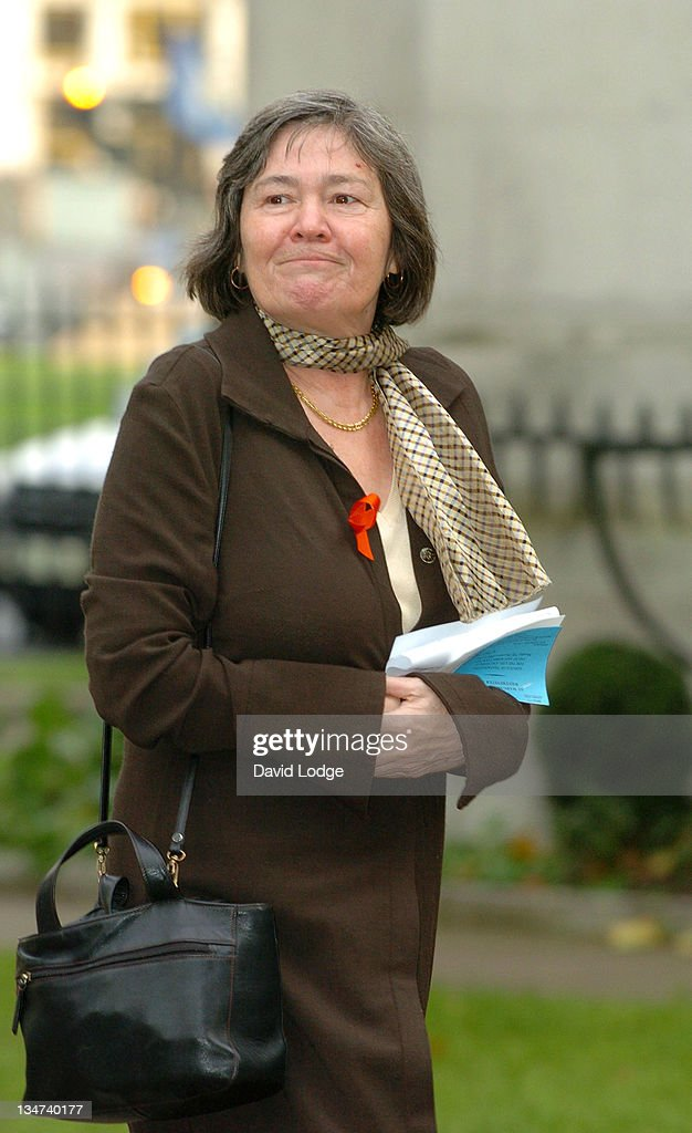 Glenda Jackson during Robin Cook Memorial Service at St Margarets Church Westminster in London, Great Britain.
