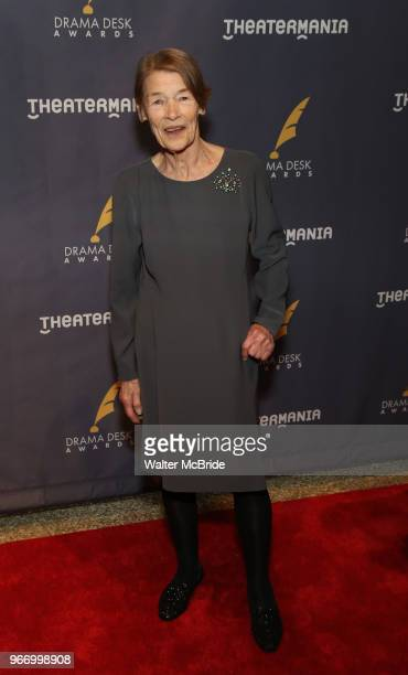 Glenda Jackson during the arrivals for the 2018 Drama Desk Awards at Town Hall on June 3 2018 in New York City