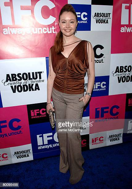 Glenda Panell attends the IFC Party Celebrating The Spirit of Independent Film at Shutters Hotel on February 23 2008 in Santa Monica California