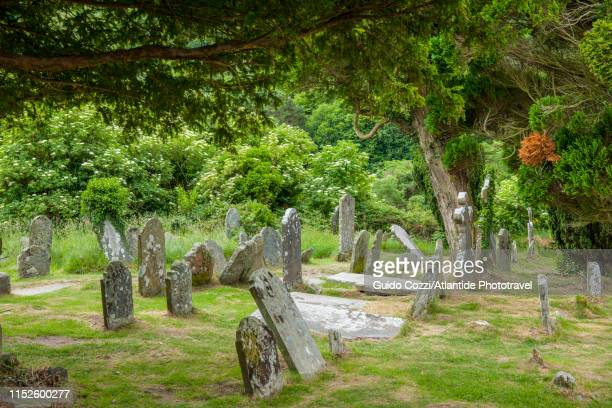 glendalough - image stock pictures, royalty-free photos & images