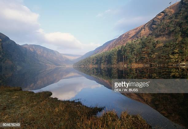 Glendalough Upper Lake County Wicklow Ireland