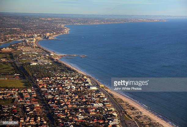 glenelg south australia - adelaide city stockfoto's en -beelden