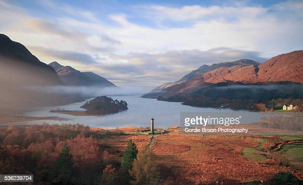 glenfinnan. - mallaig stock photos and pictures
