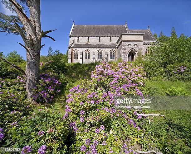 Glenfinnan Roman Catholic church Glenfinnan Lochaber Scotland United Kingdom