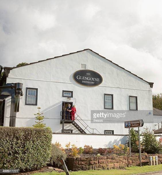 glengoyne distillery - theasis stock pictures, royalty-free photos & images