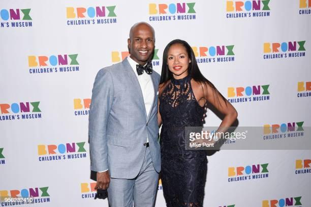 Glenn Allen Sims and Linda Celeste Sims attend the Bronx Children's Museum Gala at Edison Ballroom on May 8 2018 in New York City