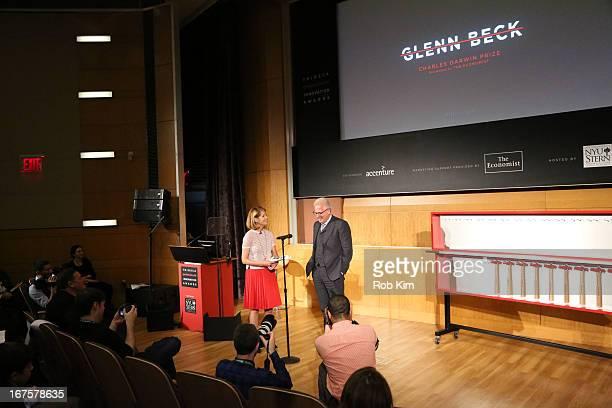 Glenn Beck attends Tribeca Disruptive Innovation Awards on April 26, 2013 in New York City.