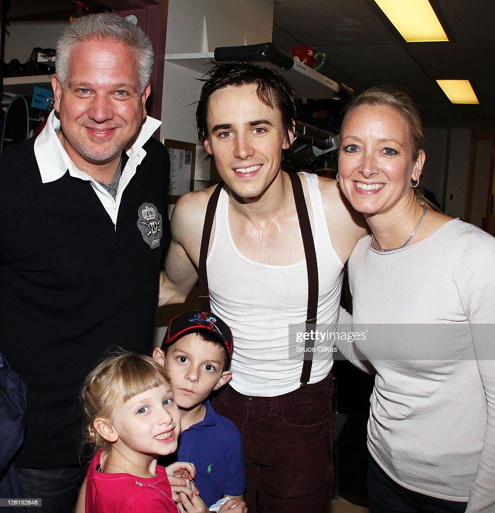 Celebrities Visit Broadway - September 22, 2011