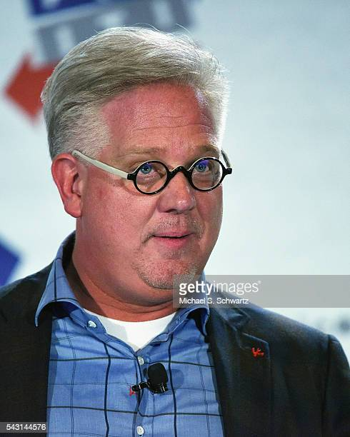 Glenn Beck speaks during his appearance at Politicon at Pasadena Convention Center on June 25, 2016 in Pasadena, California.