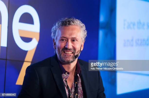 Glenn Bilby during the Sime Awards at Epicenter on November 16 2017 in Stockholm Sweden
