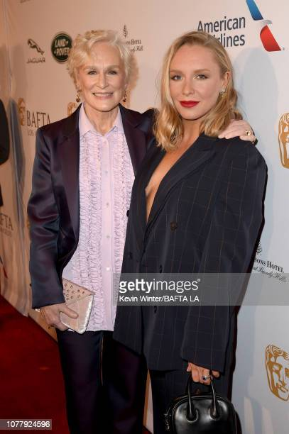 Glenn Close and Annie Maude Starke attend The BAFTA Los Angeles Tea Party at Four Seasons Hotel Los Angeles at Beverly Hills on January 5 2019 in Los...