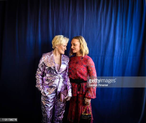 Glenn Close and Annie Maude Starke attends the 2019 Film Independent Spirit Awards on February 23 2019 in Santa Monica California