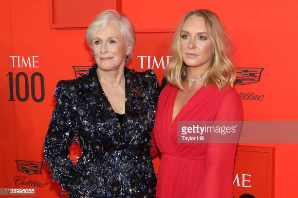 Glenn Close and Annie Starke attend the 2019 Time 100 Gala at Frederick P Rose Hall Jazz at Lincoln Center on April 23 2019 in New York City