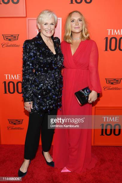 Glenn Close and Annie Starke attend the TIME 100 Gala Red Carpet at Jazz at Lincoln Center on April 23 2019 in New York City