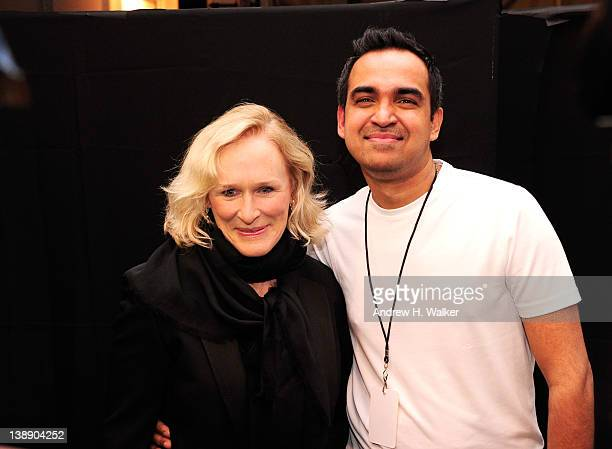 Glenn Close and Designer Bibhu Mohapatra is seen around Lincoln Center during Fall 2012 MercedesBenz Fashion Week on February 13 2012 in New York City
