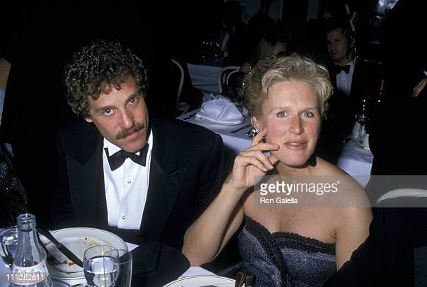 Glenn Close and John Starke during Swifty Lazar's After Party for the 60th Annual Academy Awards at Spago in West Hollywood, California, United...