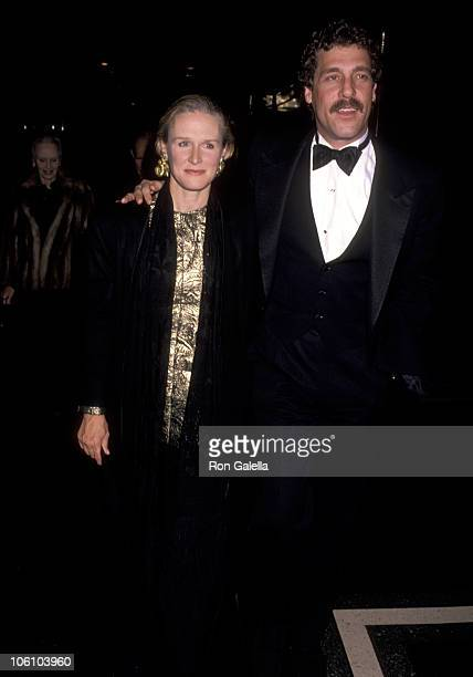 Glenn Close and John Starke during Three Penny Opera Opening New York City at LuntFontaine Theater in New York City New York United States