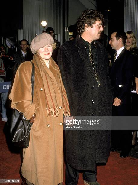 Glenn Close and John Starke during War of the Roses New York City Premiere at Gotham Theater in New York City New York United States