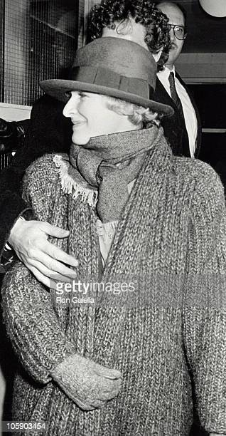 Glenn Close and John Starke during We're No Angels New York Premiere December 13 1989 at The Morgan Hotel in New York City New York United States