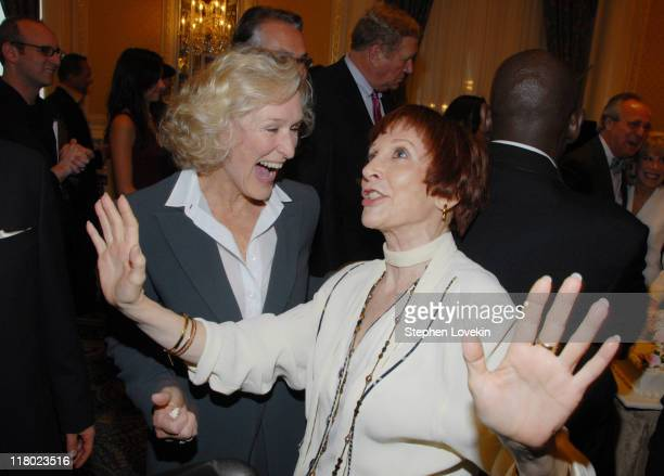 Glenn Close and Patricia Elliott during 60th Annual Tony Awards Cocktail Celebration at The Waldorf Astoria in New York City New York United States