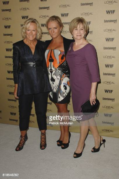 Glenn Close Annie Maude Starke and Mary Kay Place attend The 2010 Entertainment Weekly and Women In Film PreEmmy Party Sponsored by L'Oreal Paris at...