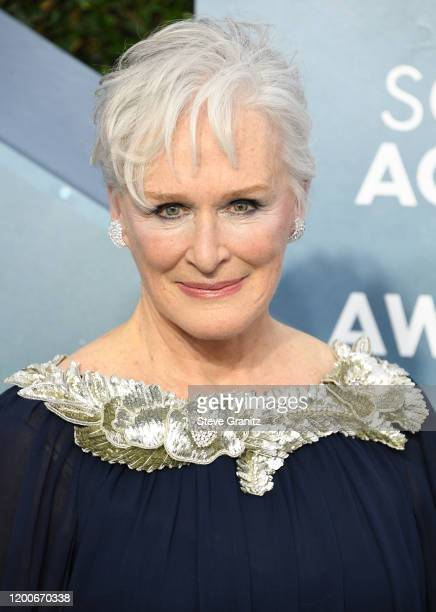 Glenn Close arrives at the 26th Annual Screen ActorsGuild Awards at The Shrine Auditorium on January 19, 2020 in Los Angeles, California.