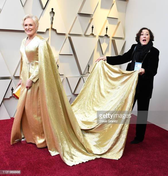Glenn Close arrives at the 91st Annual Academy Awards at Hollywood and Highland on February 24 2019 in Hollywood California