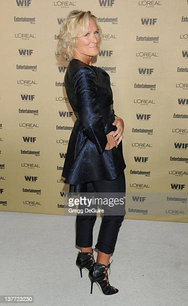 """Glenn Close arrives at the Entertainment Weekly and Women In Film Pre-Emmy Party at the """"Restaurant"""" at the Sunset Marquis Hotel on August 27, 2010..."""