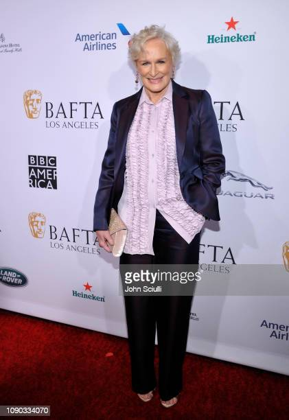 Glenn Close arrives to the BAFTA Tea Party at The Four Seasons Hotel Los Angeles at Beverly Hills on January 05 2019 in Beverly Hills California