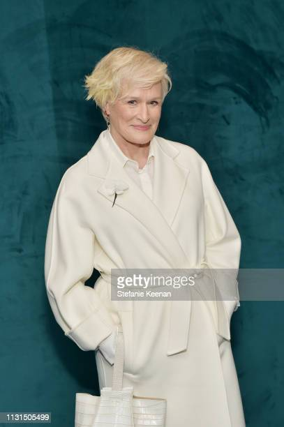 Glenn Close attends 12th Annual Women in Film Oscar Nominees Party Presented by Max Mara with additional support from Chloe Wine Collection Stella...