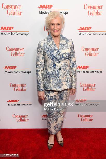 Glenn Close attends AARP The Magazine's 18th Annual Movies for Grownups Awards at the Beverly Wilshire Four Seasons Hotel on February 04 2019 in...