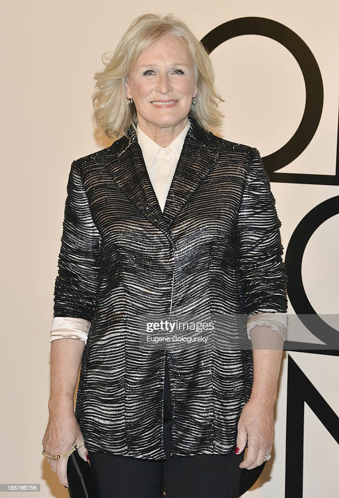 Glenn Close attends Armani - One Night Only New York at SuperPier on October 24, 2013 in New York City.
