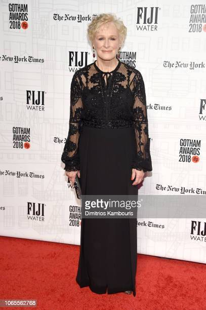 Glenn Close attends IFP's 28th Annual Gotham Independent Film Awards at Cipriani Wall Street on November 26 2018 in New York City