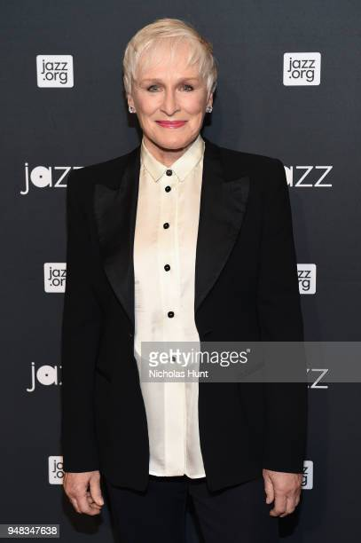 Glenn Close attends Jazz At Lincoln Center's 30th Anniversary Gala at Jazz at Lincoln Center on April 18 2018 in New York City