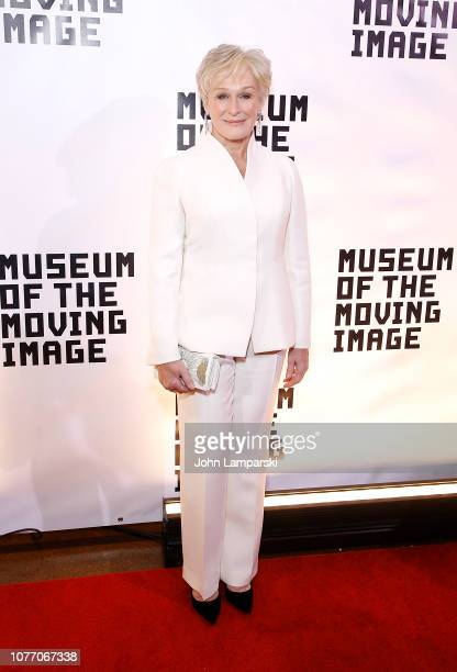 Glenn Close attends Museum of The Moving Image Salute To Glenn Close at 583 Park Avenue on December 03 2018 in New York City