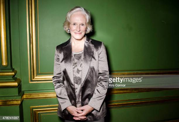 Glenn Close attends ResearchAmerica's 2014 Advocacy Awards Dinner at Andrew W Mellon Auditorium on March 12 2014 in Washington DC