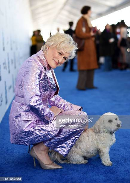 Glenn Close attends the 2019 Film Independent Spirit Awards on February 23 2019 in Santa Monica California